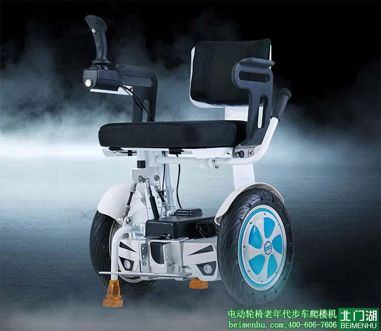创新设计的轮椅式平衡车,满足残疾人朋友们的平衡车梦想.图片